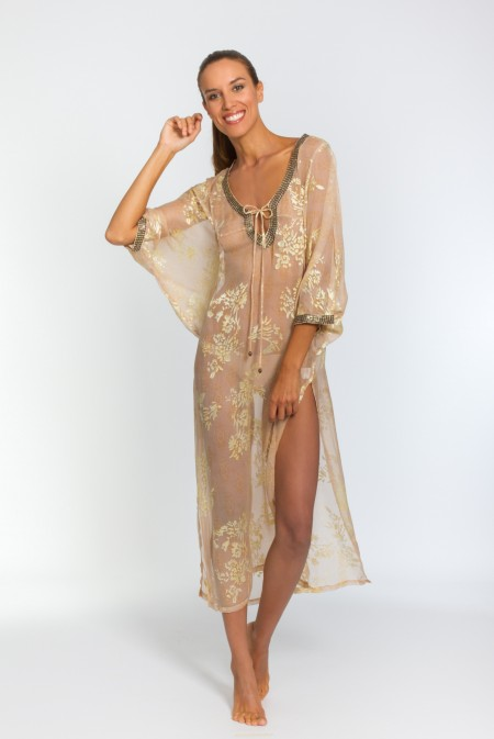 Kaftan women's fashion beach wear resort wear
